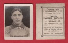 Third Lanark Jimmy Brownlie Scotland
